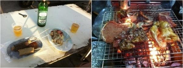 烤肉和黑輪