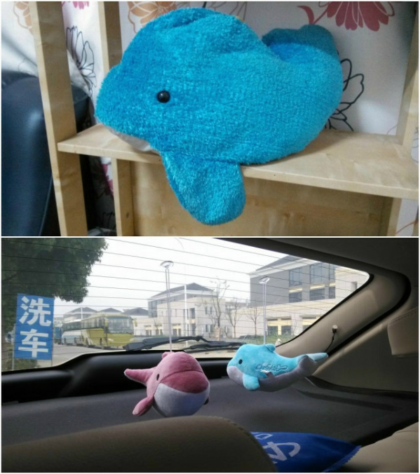 蓝鲸鱼布偶