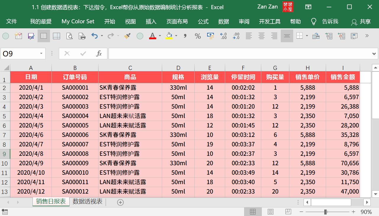 【Excel建立数据透视表】一个指令,原始数据快速汇总为统计分析报表 数据透视表 第1張