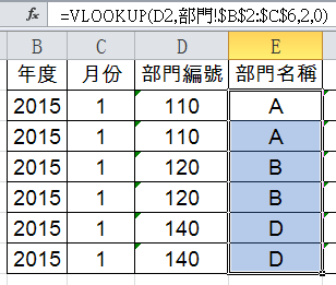 VLOOKUP查找不到成本分攤表,VALUE與TEXT轉換Excel數值格式 成本會計 第10張