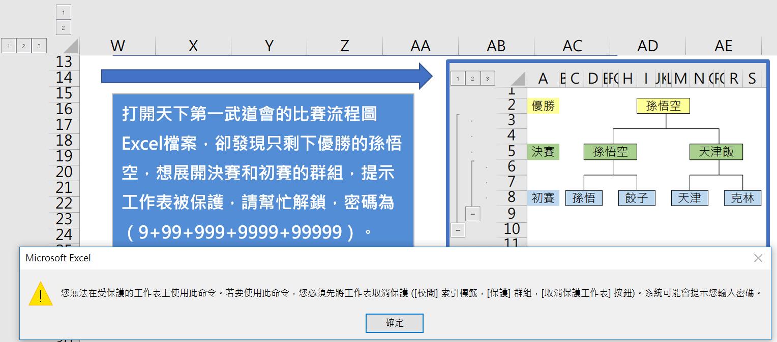 Excel加密工作表忘了密碼?幾行VBA代碼,不懂程式照樣解除工作表保護 Excel 第1張