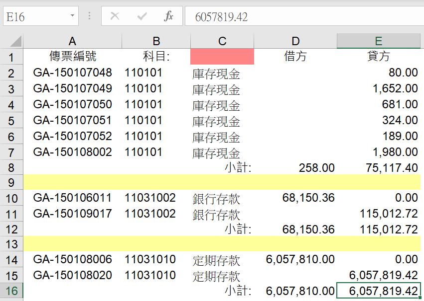 Excel基本操作小技巧:Ctrl+A與Ctrl+Shift+Home快速鍵選取報表範圍 經典指令 第1張
