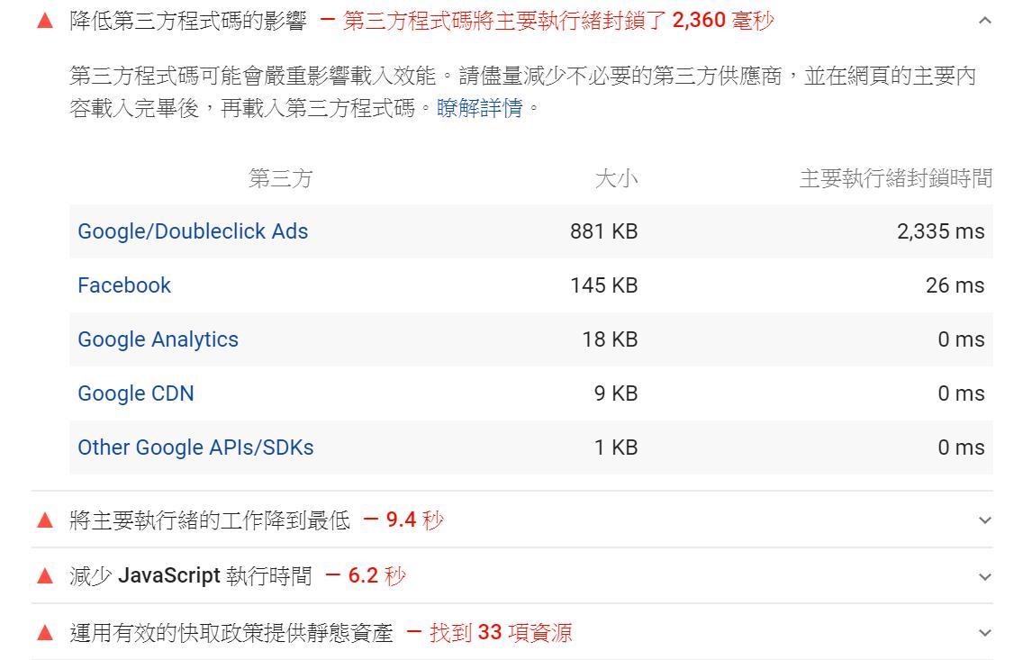 Google Adsense廣告拖慢網站速度不利SEO?刪掉重覆的網頁Async Script非同步程式碼 網站SEO 第5張