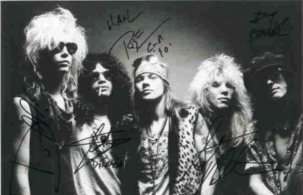 槍與玫瑰(Guns N' Roses,GNR)
