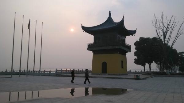 蘇州北方陽澄湖畔:「重元寺」